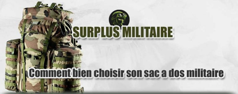 sac a dos de surplus milita