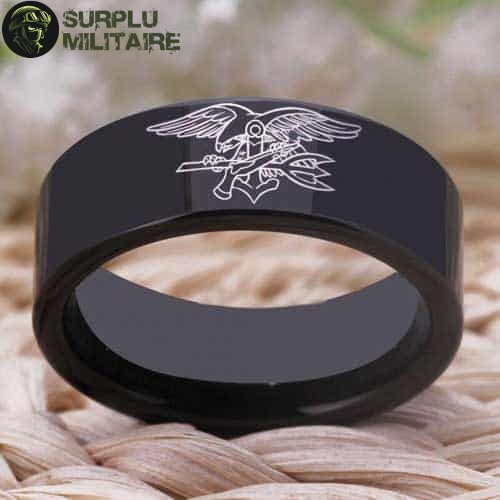 bague militaire navy seal tungstene 68 5 a vendre
