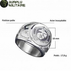 bague militaire us marines 69 5 cat 1