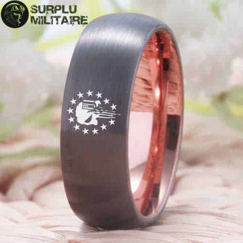 bague militaire us punisher tungstene 72 5 surplu militaire.xyz