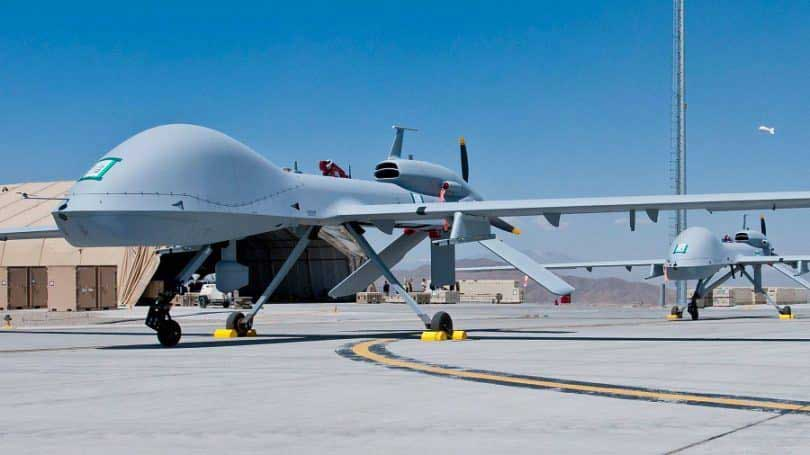 drone militaire geant