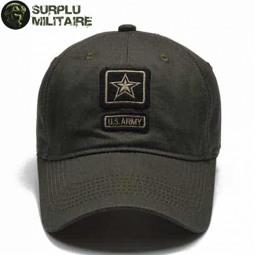 casquette militaire us army star vert armee a vendre