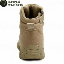 chaussures militaires boots creme 47 a vendre