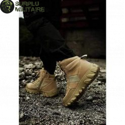 chaussures militaires boots creme 47 cat