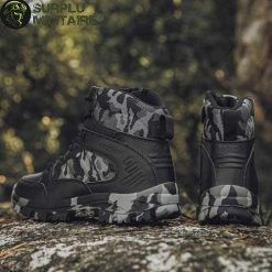 chaussures militaires boots dark camo 46 cat 1