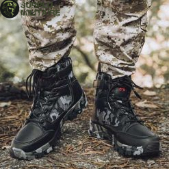chaussures militaires boots dark camo 46 pas chers 1