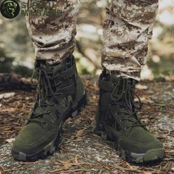 chaussures militaires boots green camo 46 cat 1