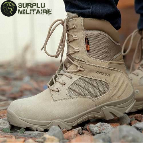 chaussures militaires boots sand 47 cat 1