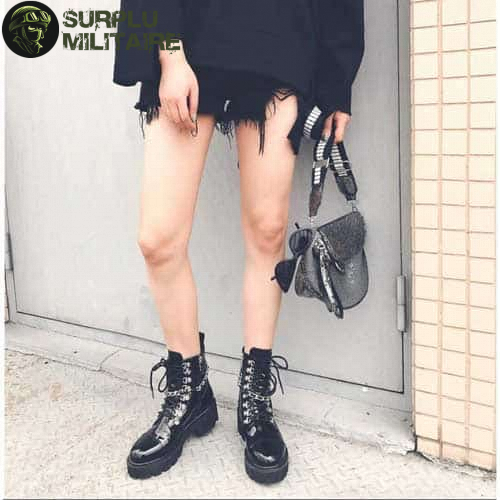 chaussures militaires girly boots gothiques 40 cat 1