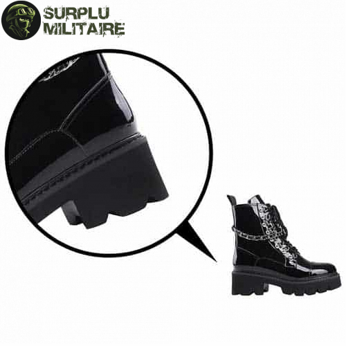 chaussures militaires girly boots gothiques 40 pas chers 1