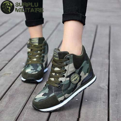 chaussures militaires girly original camo 42 a vendre
