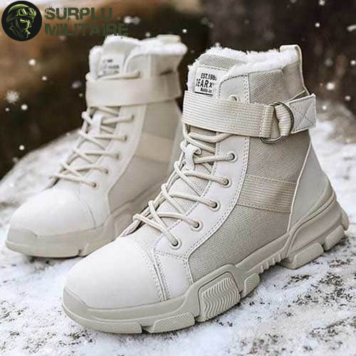 chaussures militaires girly urban boots beiges 41 acheter 1
