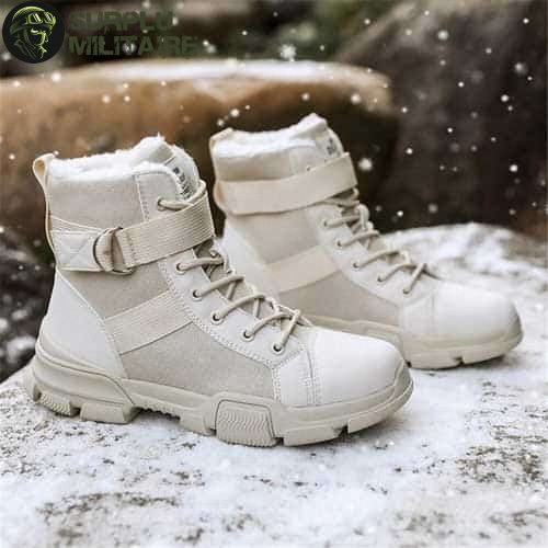 chaussures militaires girly urban boots beiges 41 pas chers 1