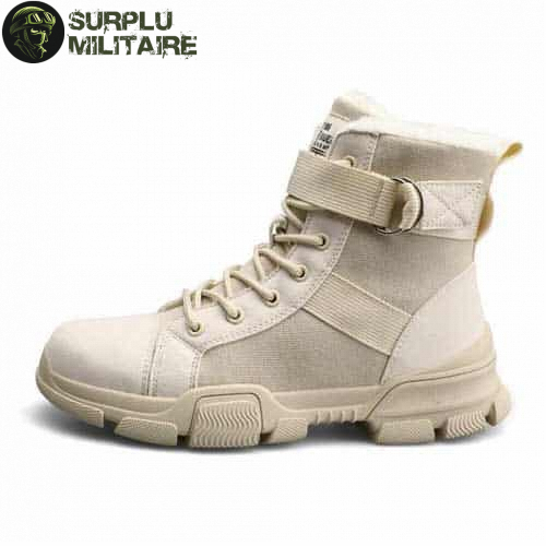chaussures militaires girly urban boots beiges 41 prix 1