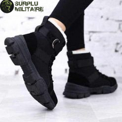 chaussures militaires girly urban boots noires 41 1