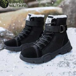 chaussures militaires girly urban boots noires 41 cat 1