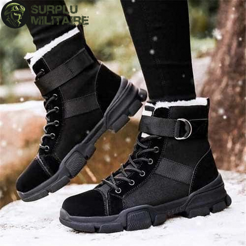 chaussures militaires girly urban boots noires 41 pas chers 1