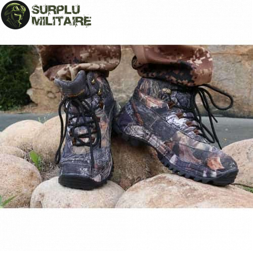 chaussures militaires hunter camo style 2 42 cat 1