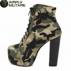 chaussures militaires low boots camo 40 pas chers 1