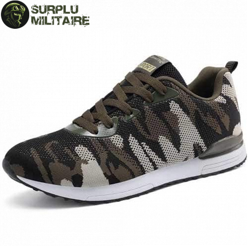 chaussures militaires sneakers classical camo 44 surplu militaire.xyz