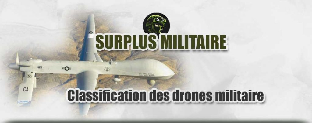 classification drone milita