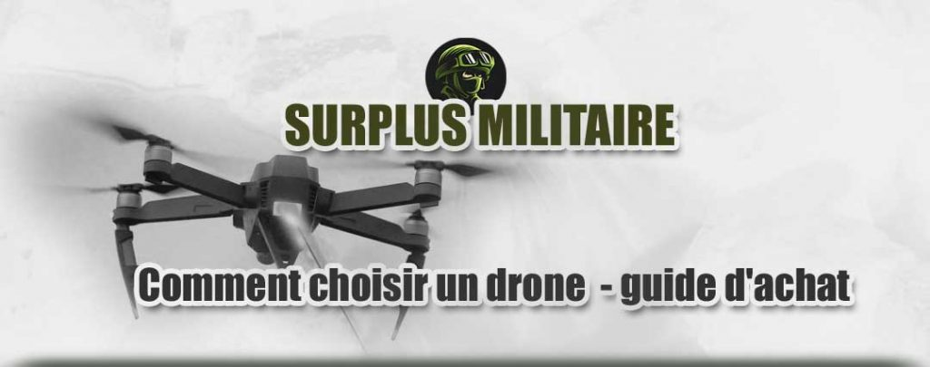 guide achat drone militaire