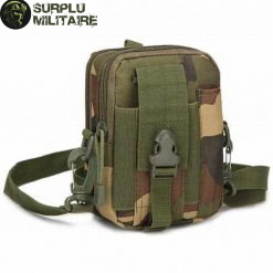 sacoche militaire verticale woodland marpat 2